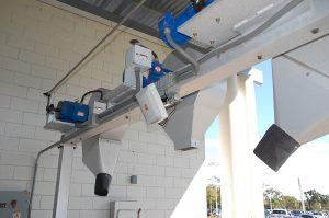 MDL RFID Antenna on Wash Blower