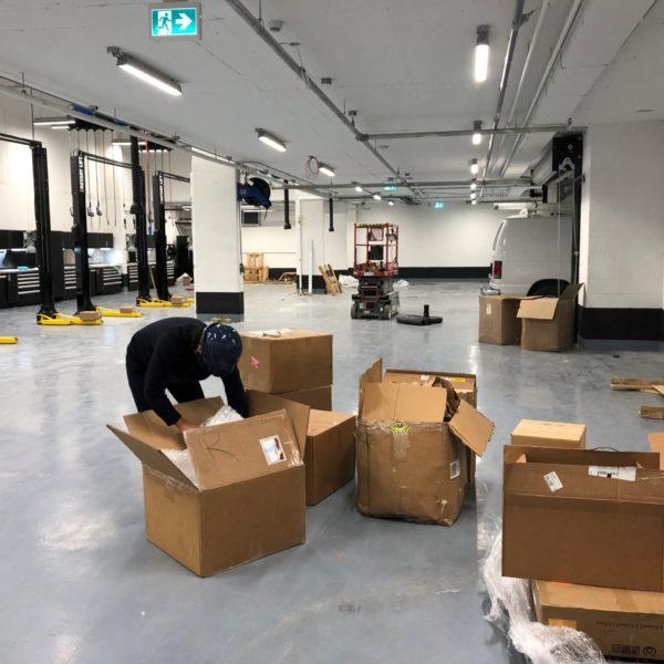 DAG - Unloading MDL Equipment