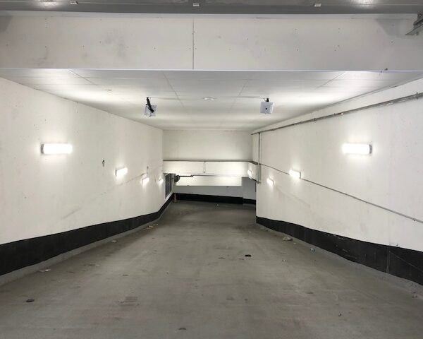 RFID Antennas Installed in DAG Parking Deck